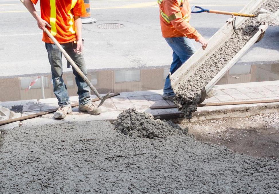 Укладывать бетонную смесь марка 150 керамзитобетон