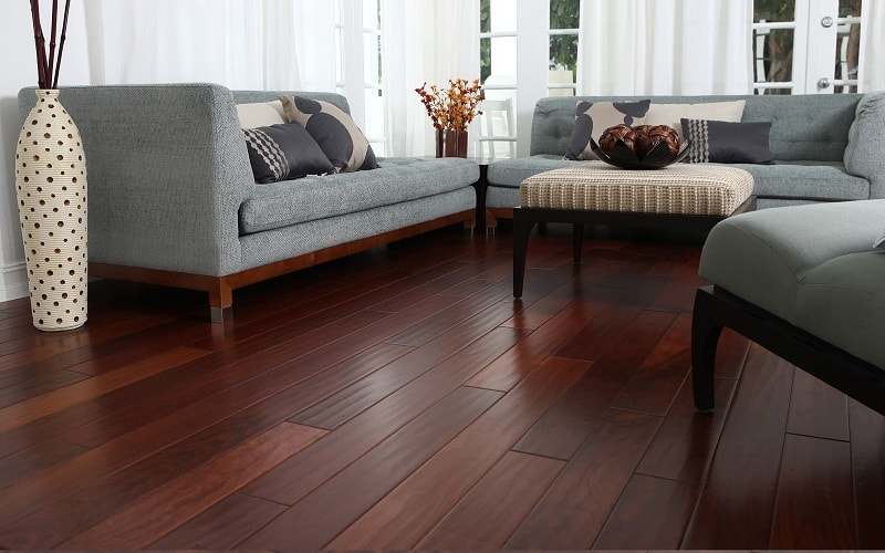 Dark Hardwood Floors in Modern Kitchen 40 Dark Hardwood Floors That Bring Life To All Kinds Of Rooms