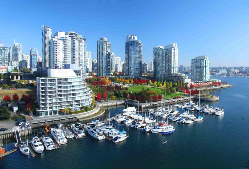 How many express entry points will you need to immigrate to Vancouver.