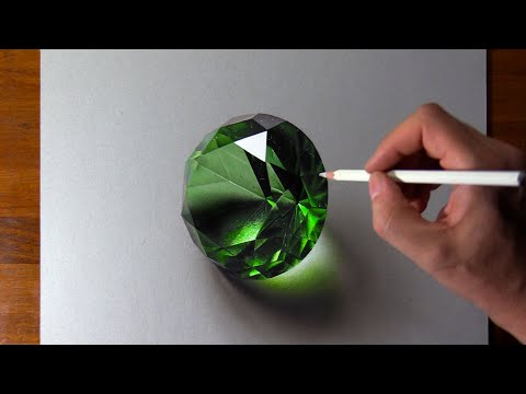 Drawing Emerald, so Realistic that... 🤑