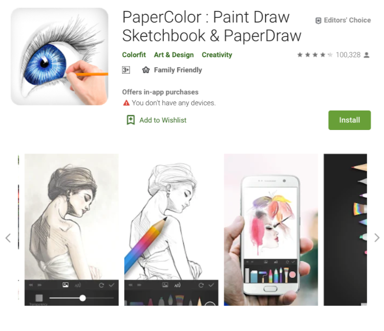PaperColor - Android Painting App