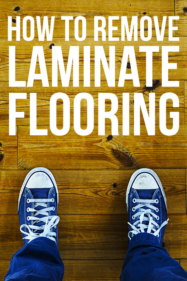 Want to change up your flooring situation? Follow these 3 steps to easily remove your old laminate floor.