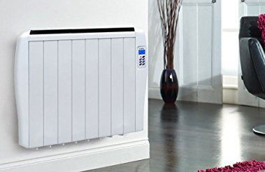 Eco Slimline Panel Heater In All White