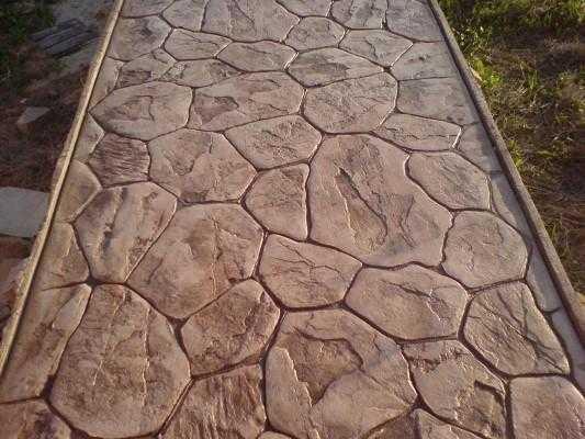 Дамаск печатный бетон бур для перфоратора по бетону купить краснодар